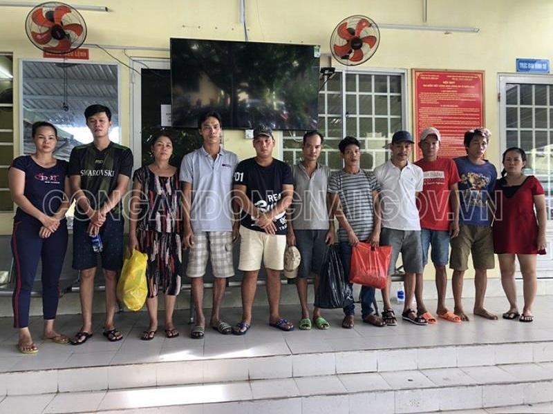 Khởi tố 11 đối tượng tụ tập đánh bạc tại TP. Biên Hòa