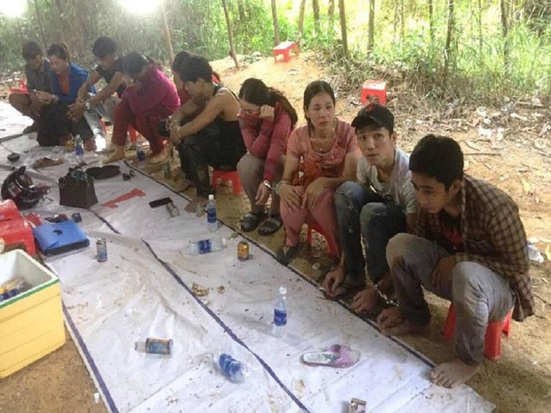 Sới bạc xóc dĩa của 11 đối tượng tại Quảng Nam bị triệt phá