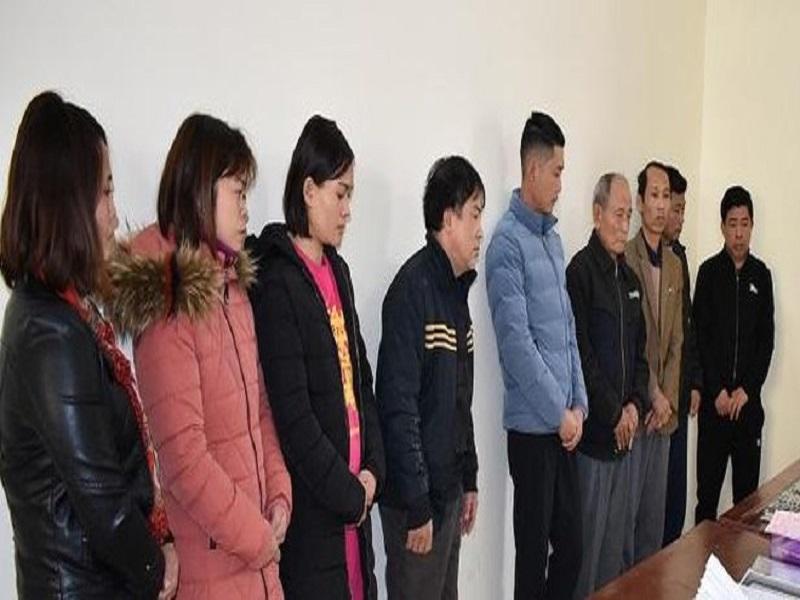 Đường dây lô đề của nhóm đối tượng nam nữ tại Ninh Bình bị triệt phá