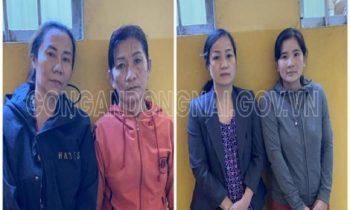 Khởi tố 4 quý bà tổ chức lô đề tại Đồng Nai, thu giữ 40 triệu đồng