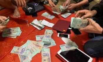 Triệt phá sòng bạc tại Nghệ An, thu giữ số tiền hàng trăm triệu đồng